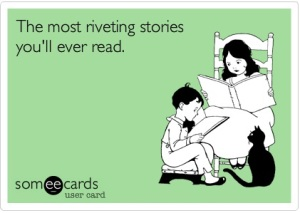 Stories you love to read