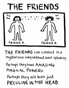 How I see my friends