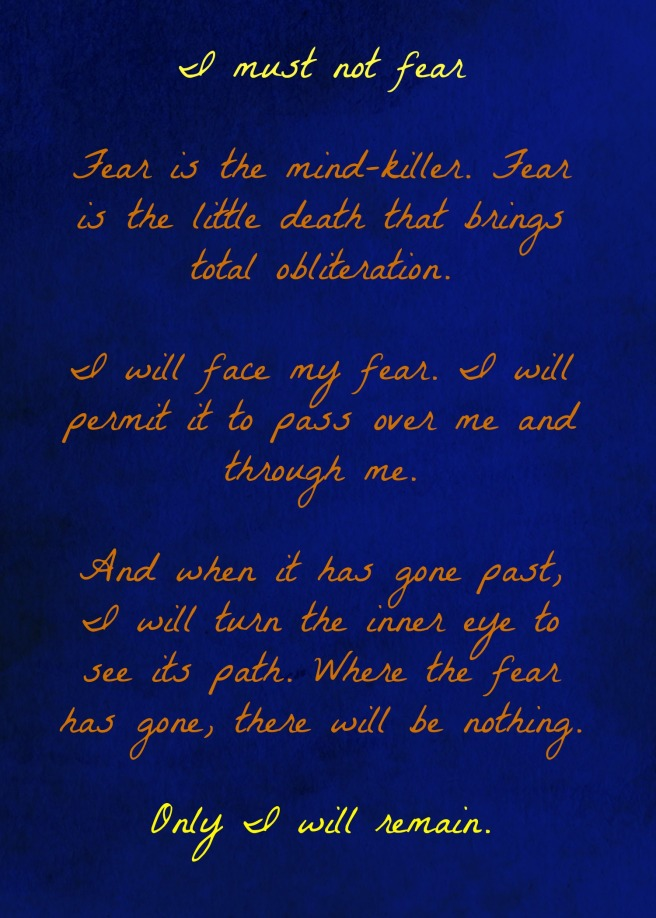 ReadingInBetween_Dune Litany Against Fear