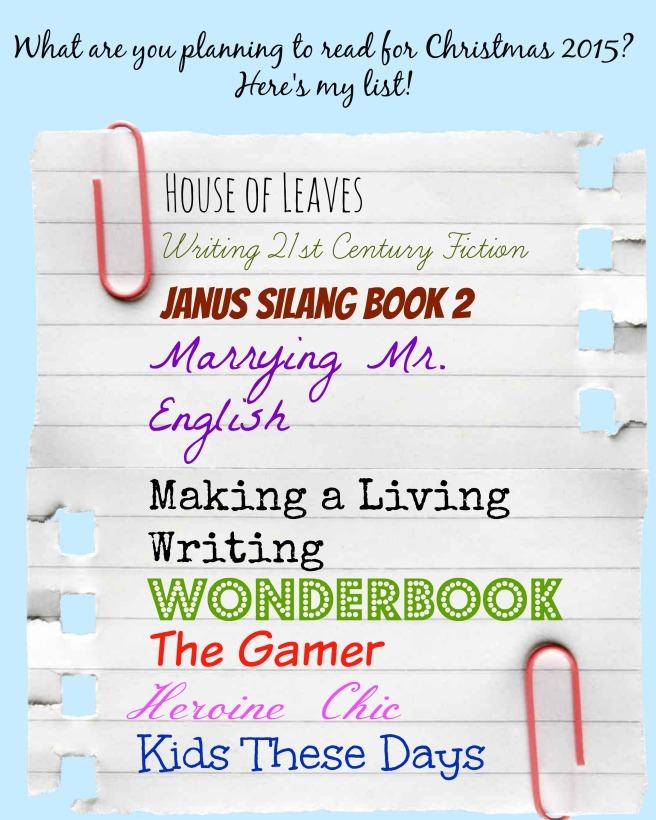 ReadinginBetween_Reading List Christmas 2015
