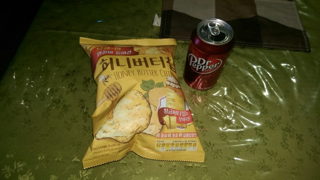 Honey Butter Chips and Dr. Pepper